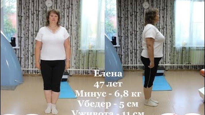 Минус 11 см в объеме живота за 1 месяц! Программа Преображение в клубе ТОНУС Академгородок и Бердск