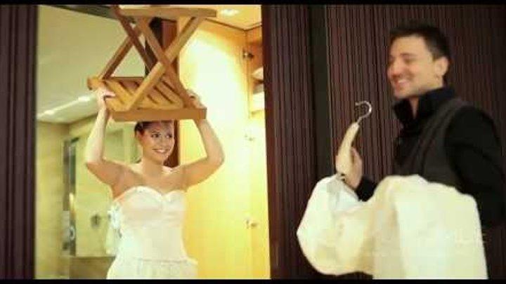 Свадебное видео. Красивые образы у жениха и невесты.