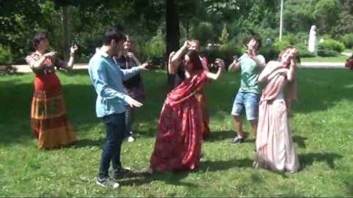 Индийские танцы по случаю свадьбы Сергея и Полины