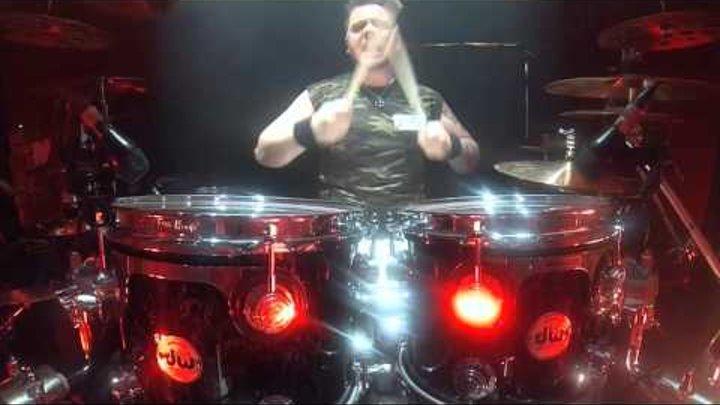 Sven Dirkschneider Drum Cam - Flash Rockin' Man (02 Academy Islington London)