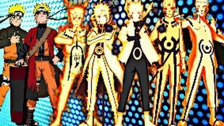 Naruto Uzumaki - All Forms (Naruto,Naruto Shippuden, Naruto The Last, Naruto Gaiden,Boruto Movie)