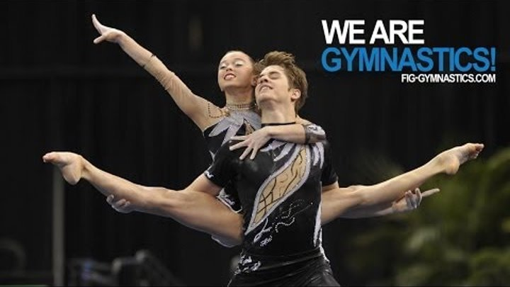 2012 Acrobatic Gymnastics Worlds LAKE BUENA VISTA - Mixed Pair Final - We are Gymnastics!