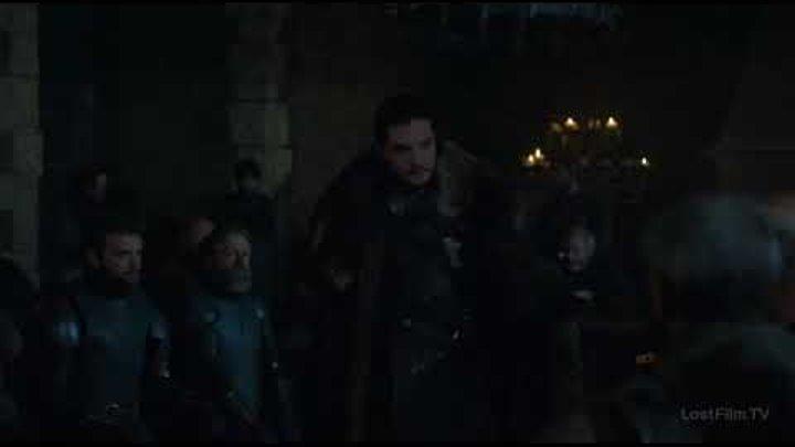 Король Севера і лорди Севера,Джон убеждает лордов про Дайнерис.Игри Престолов 7 сезон 2 серия