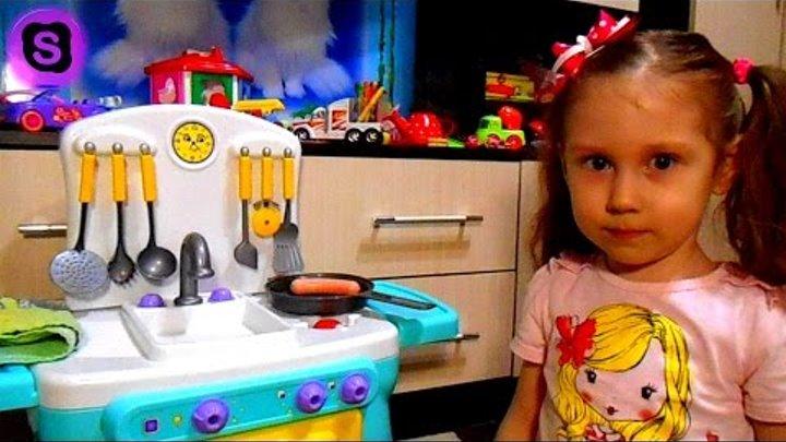 Детская кухня с приборами - София Прекрасная все серии - Игрушечная кухня sofia the first