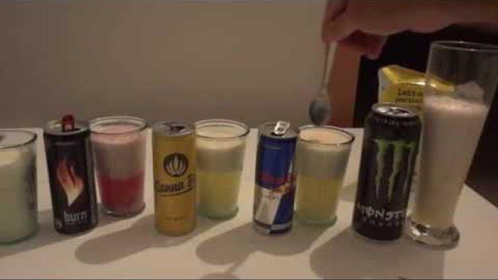 ENERGY DRINK XS / BURN / CANNA BI / RED BULL / MONSTER