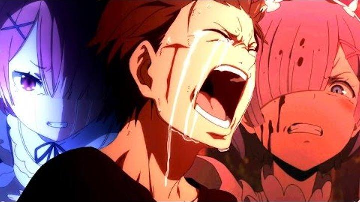 [ AMV anime ] Re Zero kara Hajimeru Isekai Seikatsu | Anime mix | С нуля пособие по выживанию