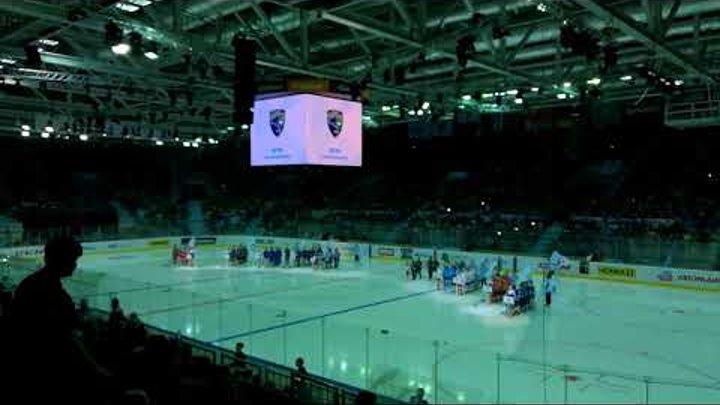 Открытие XII Кубок Газпром нефти, международный турнир детских команд КХЛ 21 апреля 2018 года