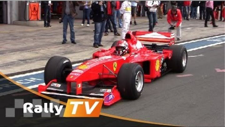 Ferrari Formula 1 - Modena Trackdays 2011 Nurburgring [HD] Pure Sound - Rally TV
