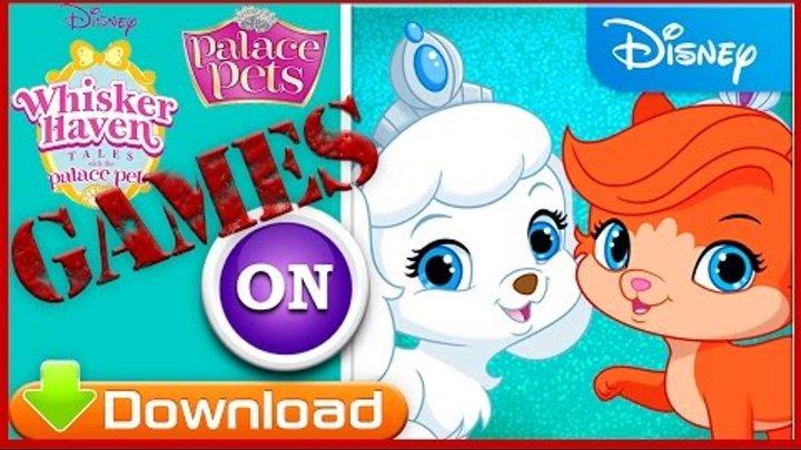 Самая веселая Кошка и Ребенок Palace Pets in Whisker Haven 2016 Видео игра для детей Обзор игры дети
