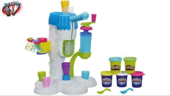 Play-Doh Sweet Shoppe Perfect Twist Ice Cream Toy Review, Hasbro