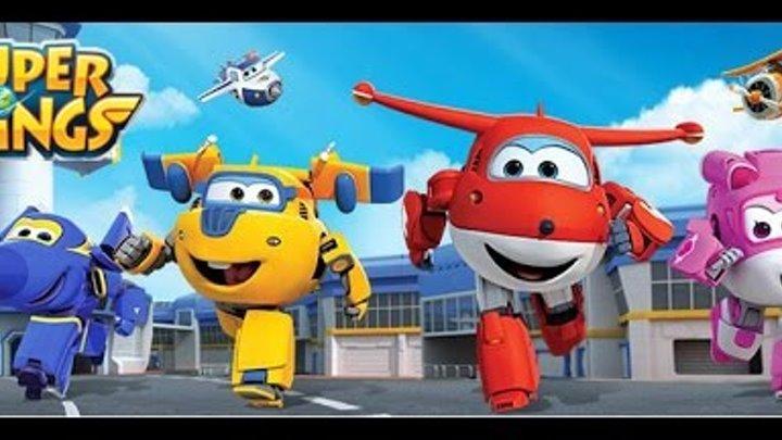 Супер крылья игра мультик 1 серия Собери друзей Джетта ◄ Игры для детей / Super Wings