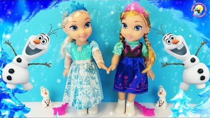 """Куклы Эльза и Анна. История: """"Двойник Олафа"""" Холодное сердце / Frozen Disney doll story"""