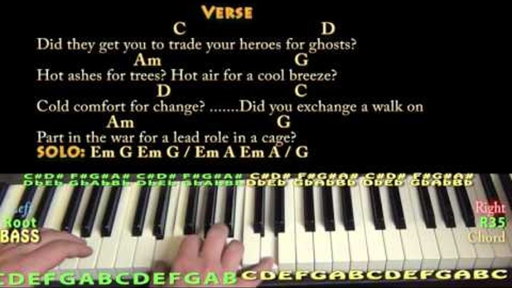 Wish You Were Here (Pink Floyd) Piano Cover Lesson with Chords/Lyrics