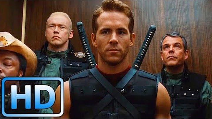 Уэйд Уилсон (Дэдпул) демонстрирует свои способности / Люди Икс: Начало. Росомаха (2009)