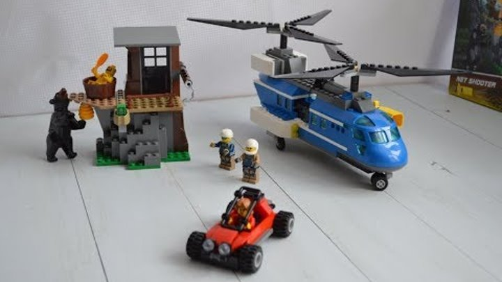 #4 конструктор лего сити вертолет.LEGO CITY helicopter.