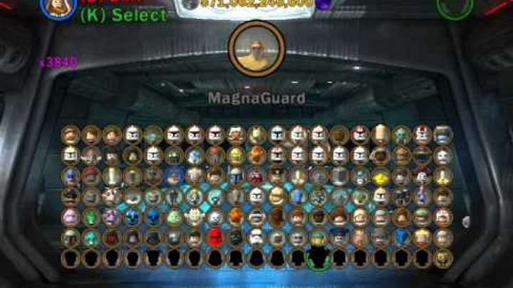 Lego Star Wars 3 - The Clone Wars All Playable Characters Unlocked! (PC)