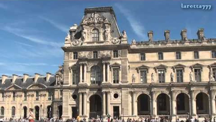 Прогулка по Парижу. Лувр. Сентябрь, 2012