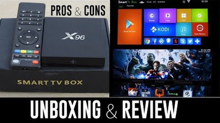 X96 Android Box - Unboxing & Review | 4K 2GB RAM 16GB ROM Amlogic S905 | Competitor of T95m, MXQ PRO