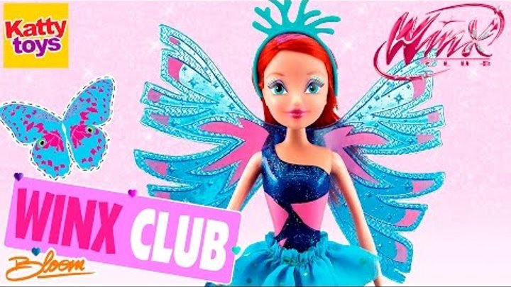 Клуб Винкс - Кукла Фея Сиреникс. Блум (Winx Club Sirenix Bloom) Обзор на русском