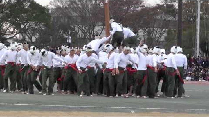 Японская спортивная игра Botaoshi Ботаоши (Bo-taoshi, Бо-Таоши)