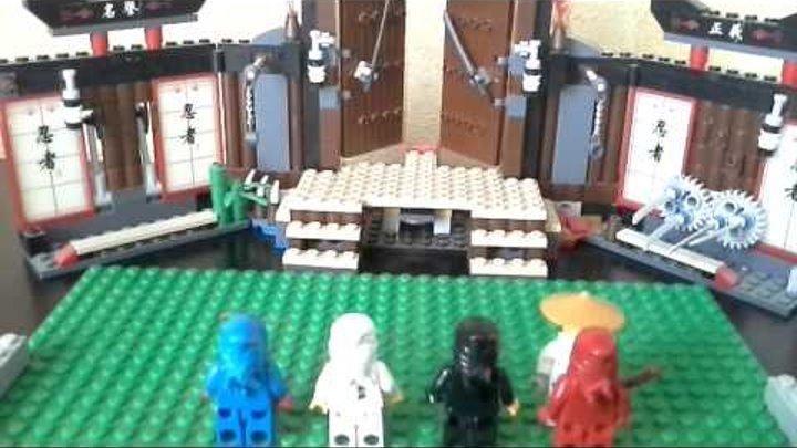 Лего ниндзя го 2 серия.