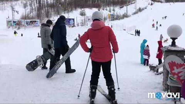 Влог едем на горнолыжный курорт 💗