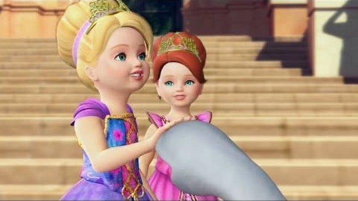 Барби в роли Принцессы Острова   Русский фильм Барби   барби мультфильм