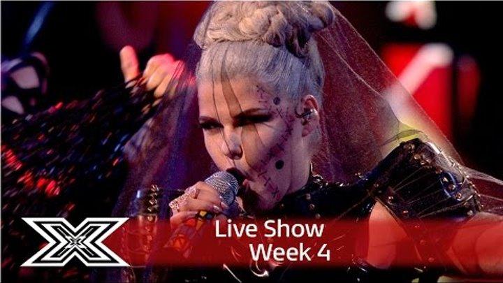 Saara Aalto goes Gaga with Bad Romance | Live Shows Week 4 | The X Factor UK 2016