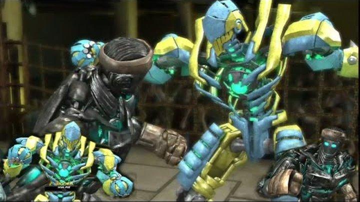REAL STEEL-Atom vs Hylas (ЖИВАЯ СТАЛЬ) XBOX 360/PS3