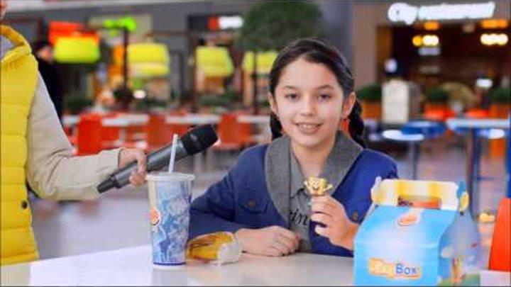 Сестренки Отаровы Камила и Саида в реклама для детского канала Nickelodeon