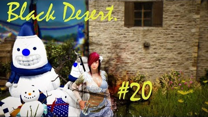 Black Desert.Темный рыцарь.#20.Разборки с разбойниками.
