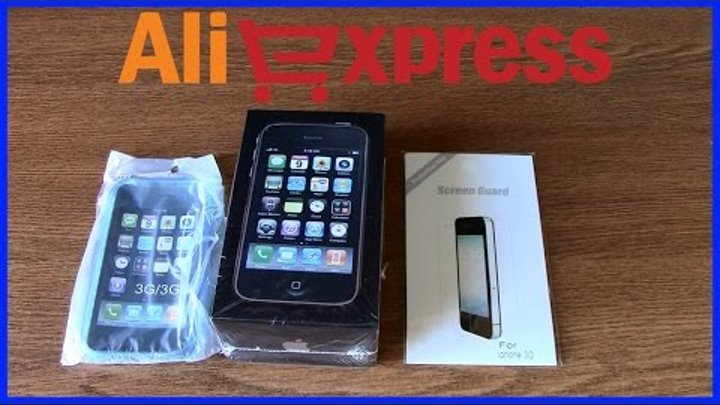 iPhone с AliExpress Распаковка и Обзор посылки Айфон из Китая Unboxing