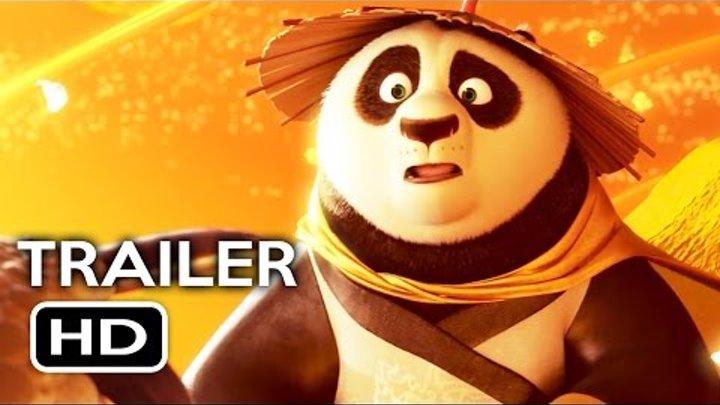Kung Fu Panda 3 Official Trailer #3 (2016) Jack Black, Angelina Jolie Animated Movie HD