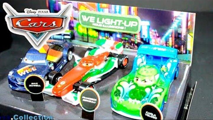 Тачки 2 на русском полная версия - игрушки для детей Молния Маквин Disney Pixar Cars Neon light-up