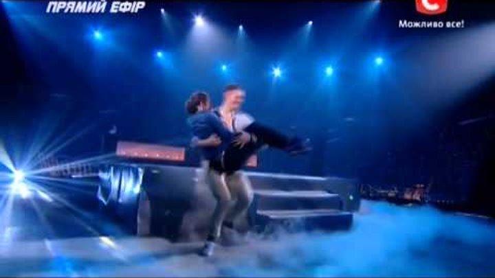 Танцуют все 6 сезон - Алиса и Толик - Эфир от 20.12.2013