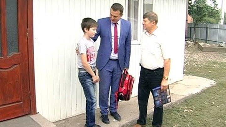Школярі Коломийщини до 1 вересня отримали нові портфелики