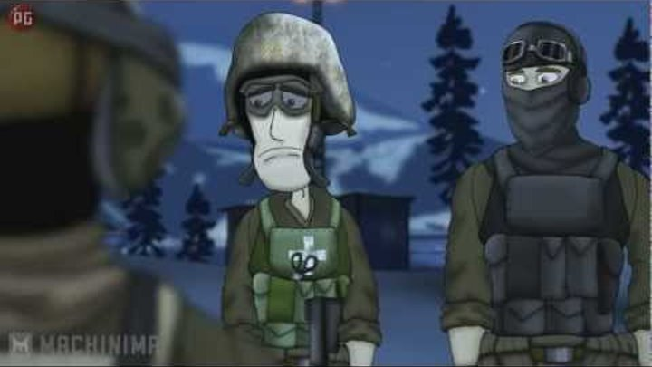 Друзья по Battlefield -- Тайный полковник 2 сезон 8 серия