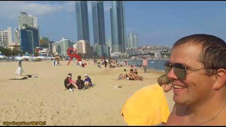Vlog #5 부산의 여름 Fedya Koreychik and MaD MaX.Our bright summer in Busan part 3 2019.#Busan#부산#한국