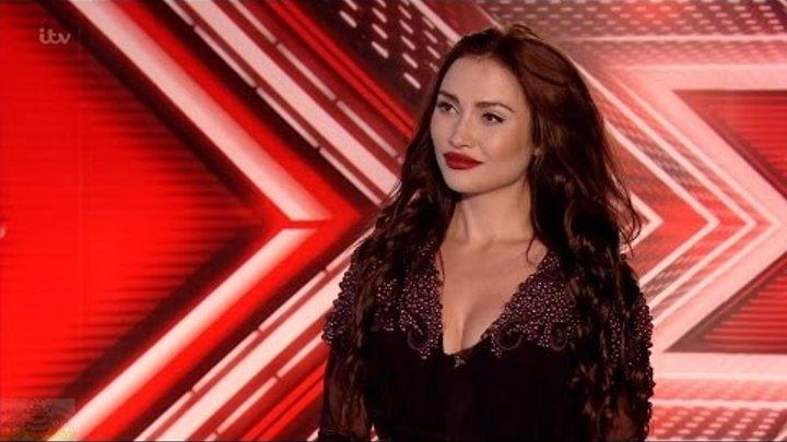 The X Factor UK 2016 Auditions Irina Dedyuk Full Clip S13E04