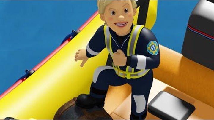 Пожарный Сэм на русском   Паника на Празднике 🚒 1 час Компиляция   Новые серии HD 🔥 мультфильм