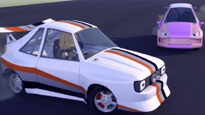 Олли Веселый грузовичок - Мультфильм про машинки - Серия 32 - Высокие обороты (Full HD)