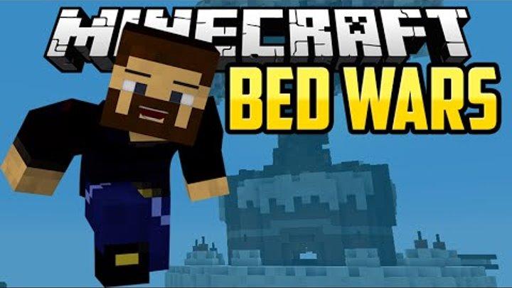 ПРОБИРАЕМСЯ КАК НИНДЗЯ - Minecraft Bed Wars (Mini-Game)