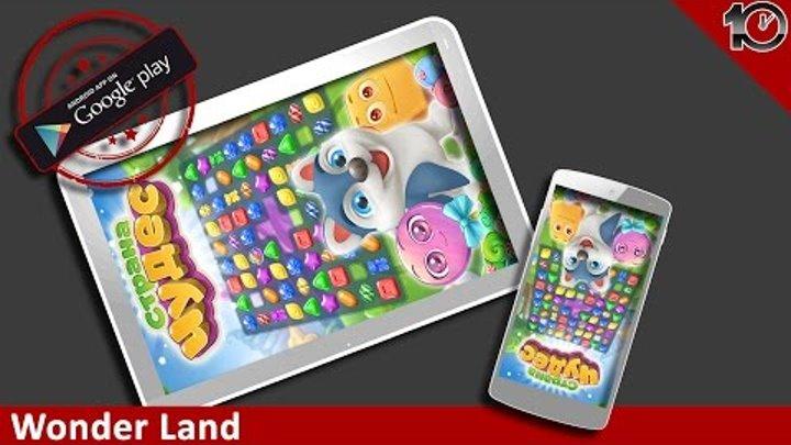 Страна Чудес: три в ряд! iPhone/iPad GamePlay Trailer