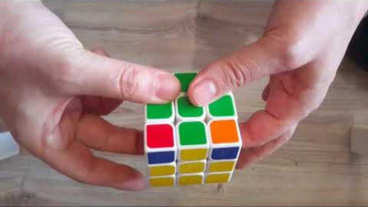 САМЫЙ ПРОСТОЙ СПОСОБ 100% как собрать Кубик Рубика