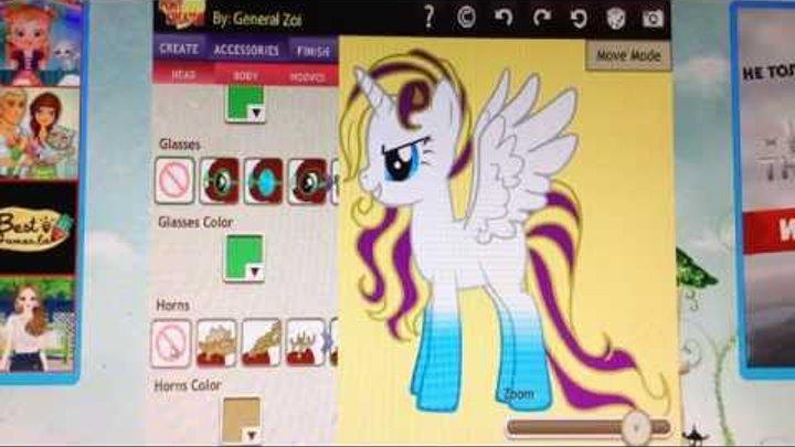 Делаю пони в игре пони креатор 3