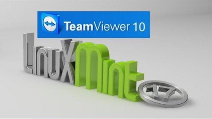 Install Teamviewer 10 In Linux Mint 17 (Ubuntu)