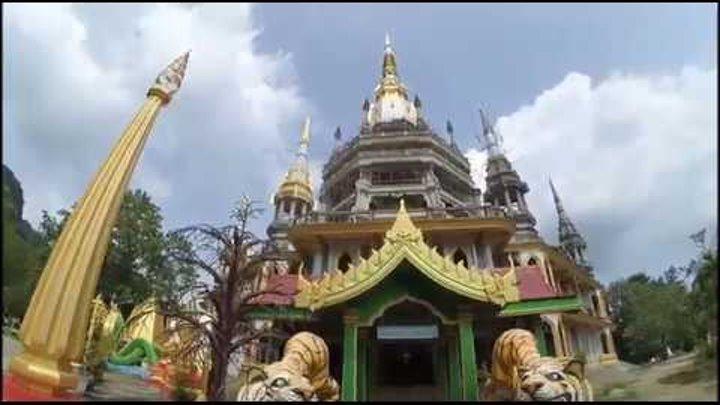 Храм Пещера тигра, подъем на скалу. Краби, Таиланд. Эпизод 95.1