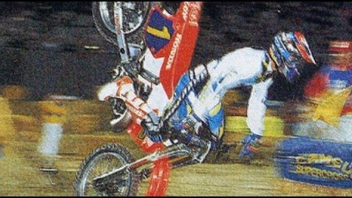 AMA Supercross Crashes (90'-92')
