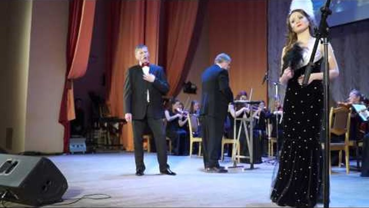 Ф. Легар Дуэт Ганны и Данило из оперетты Веселая вдова