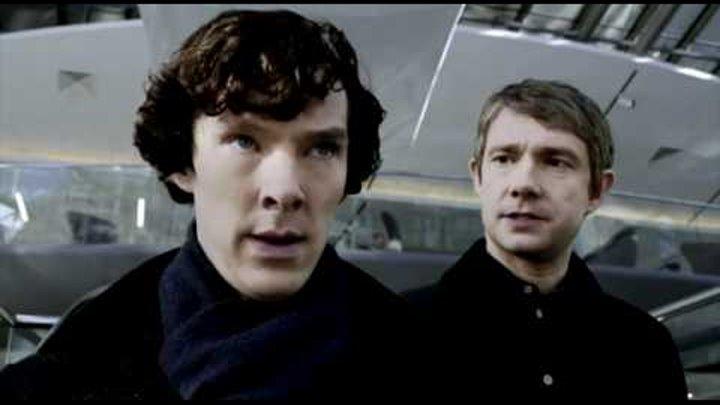 """Сериал """"Шерлок"""". Русский трейлер."""